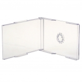 Cajas cd card, transparente cristal